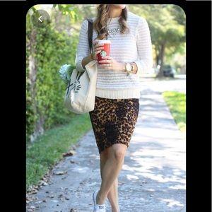 Stylish Leopard print skirt